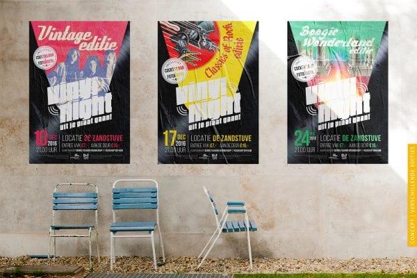 vinyl night_concept posters